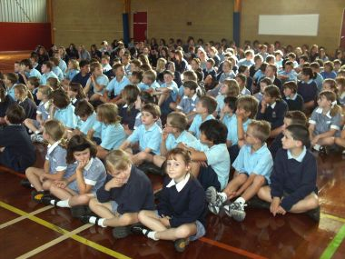 Our whole school assembly